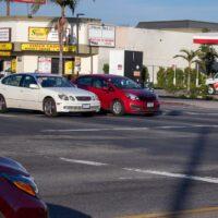 West Palm Beach, FL - Auto Crash on side of Beeline Hwy Injures 2
