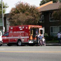 Northwest Miami-Dade, FL- One Hospitalized when Car Crashes into Fence