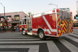North Miami, FL - Apartment Fire on NE Sixth Ave Injures Four