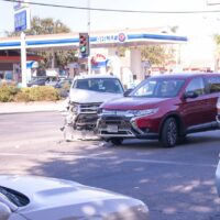 Palm Beach County, FL - Car Accident with Injuries on Southern Blvd W at Cleary Rd