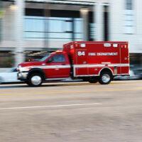 Miami Beach, FL - Two Hurt in USPS Truck Rollover Crash on 77th Street